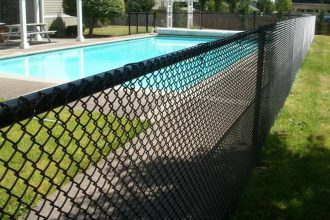 chain link pool fence Tampa