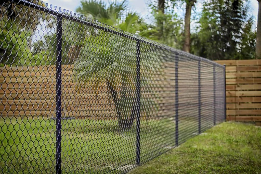 Chain link fences in Tampa